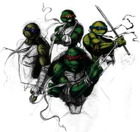 Teenage Mutant Ninja Turtles Class of 2014