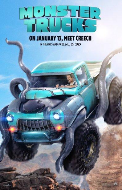 Image result for monster trucks movie poster