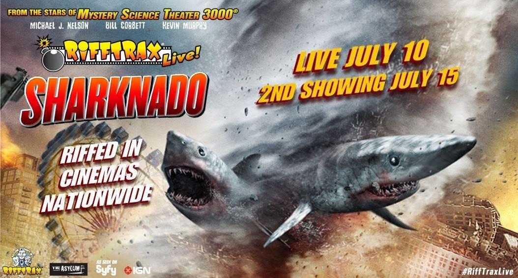Image result for sharknado rifftrax