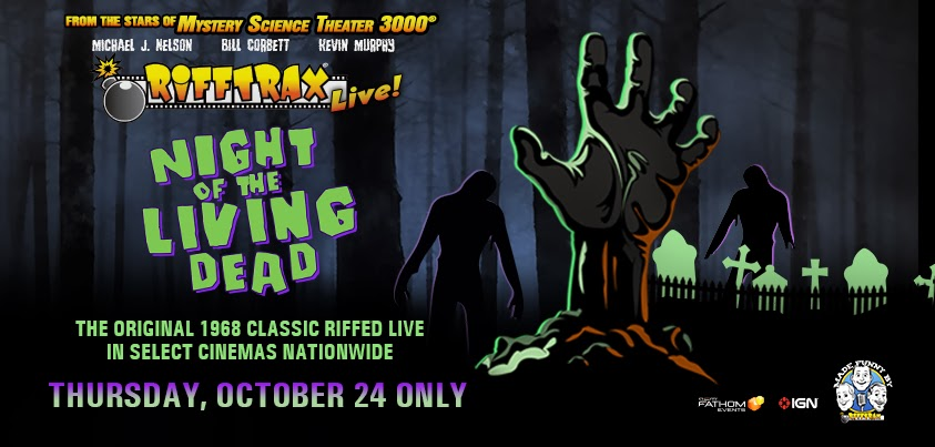 Image result for night of the living dead rifftrax