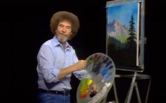 Bob Ross 2017 Wild Card Inductee