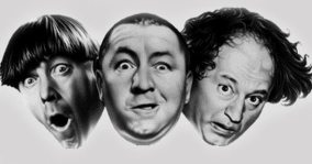 The Three Stooges Jan 1 Inductee (Comedians)