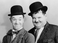 Laurel & Hardy Jan 1 Inductee (Comedians)