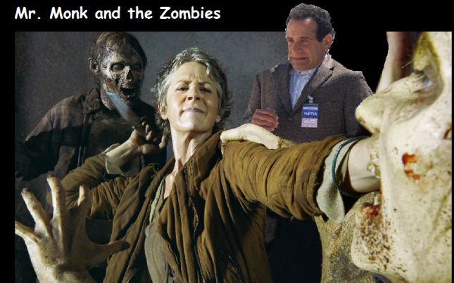 Mr Monk and Zombies
