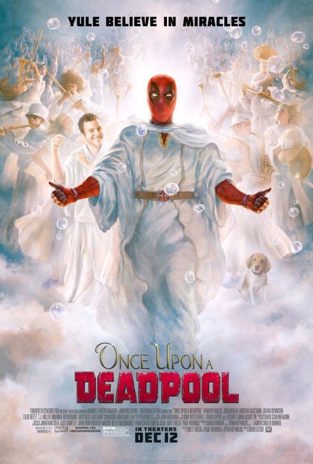 Image result for once Upon a deadpool movie poster