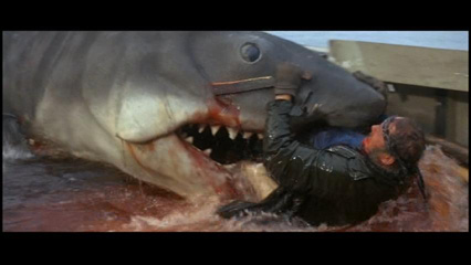 Image result for quint eaten by jaws