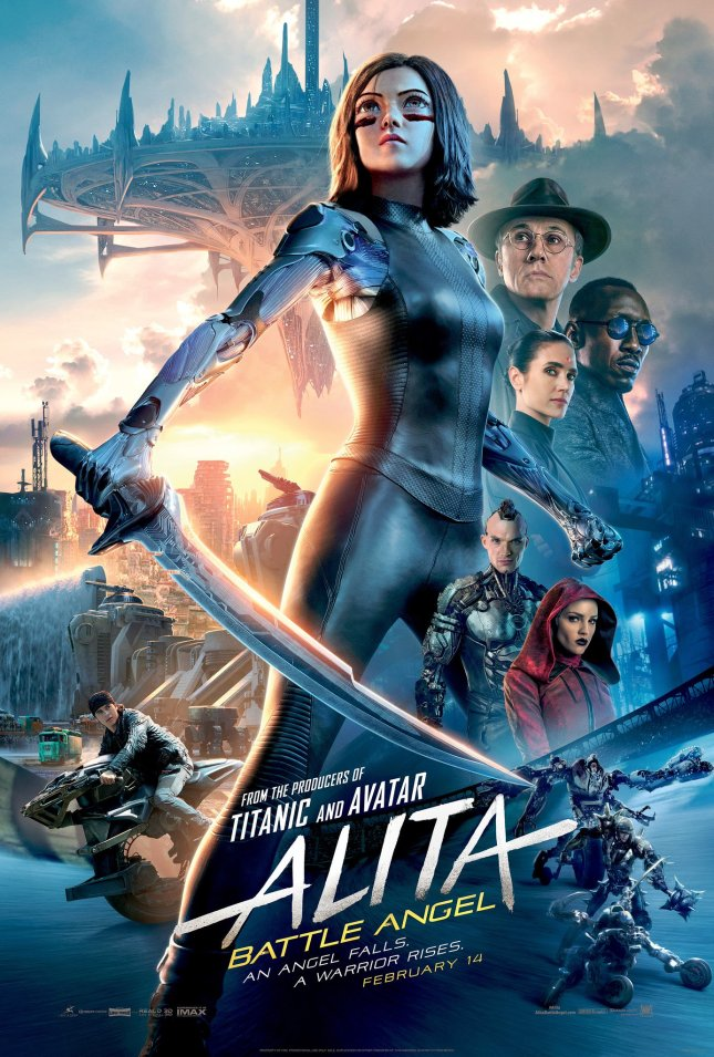 Image result for alita battle angel movie poster