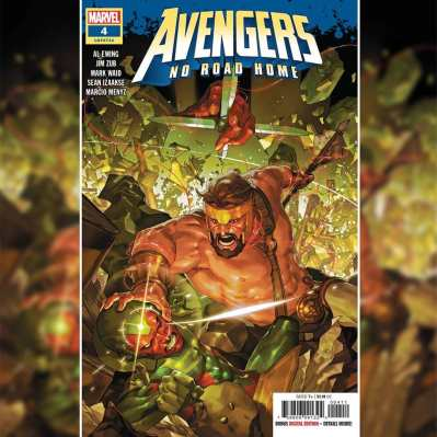 Image result for avengers no road home #4 cover