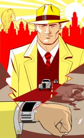 Dick Tracy 2020 Pulp Character Inductee