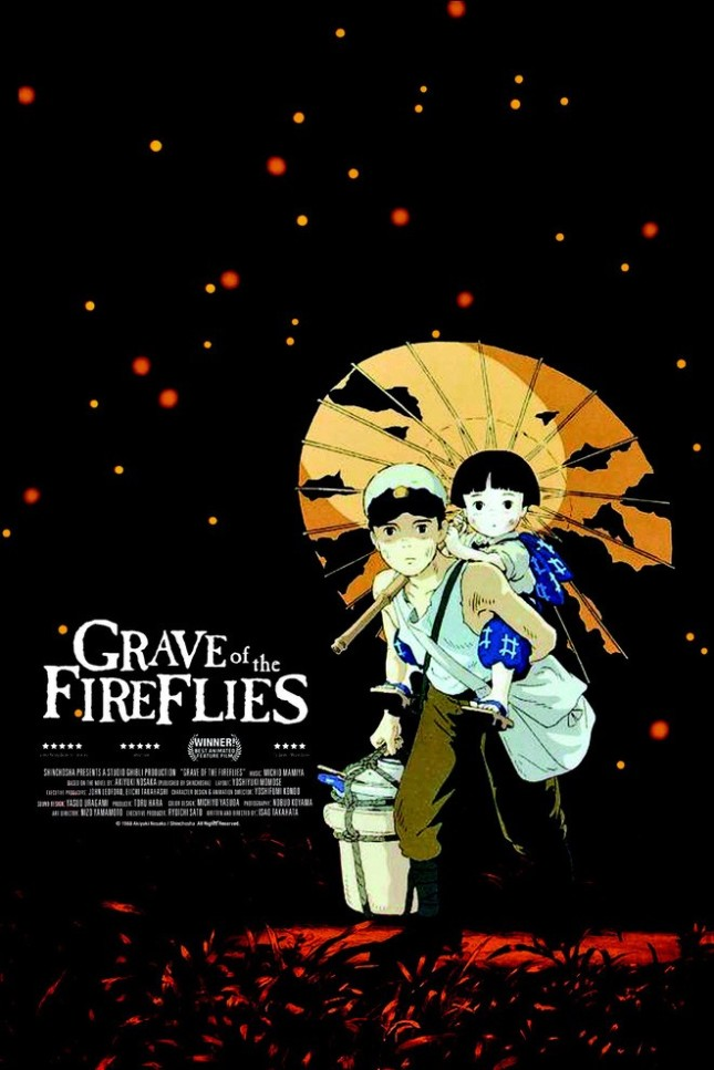 "GhbbliThe Truth About The Poster Of ""Graves Of Fireflies"""