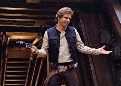 Han Solo 2020 EYG Hall of Fame Inductee