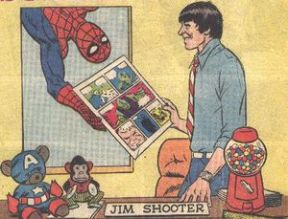 Jim Shooter 2020 NGD Hero Games Award