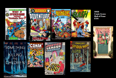 2021 Comic Issue Inductees